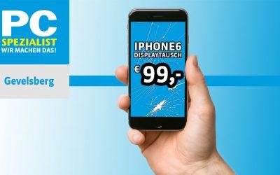 Iphone 6 Display Reparatur für 99,- Euro Sonderangebot September 2016