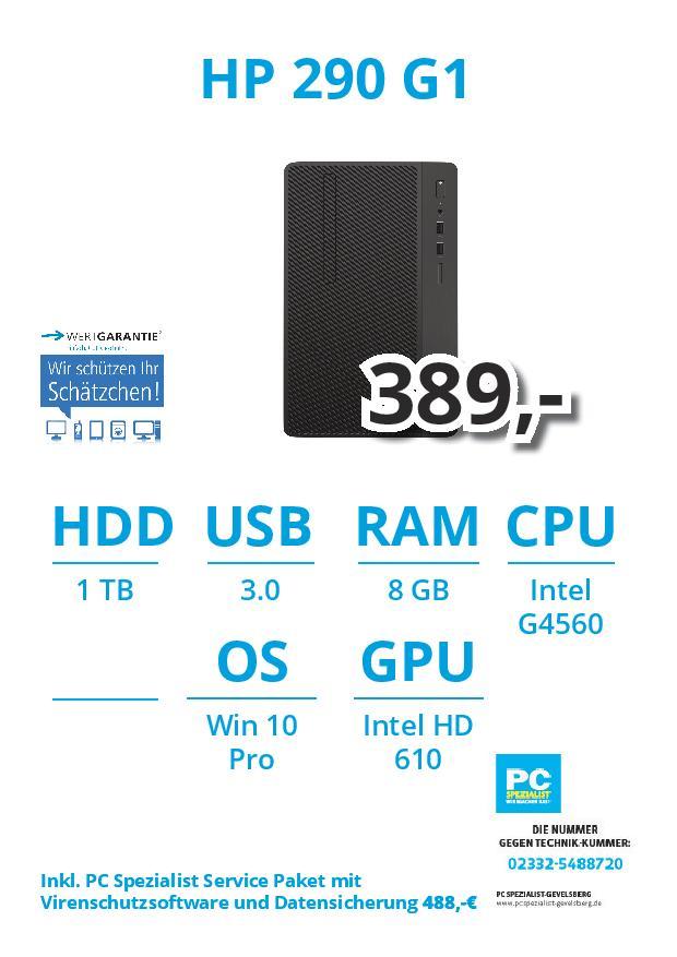 Aktuelle Notebook Angebote PC Spezialist Gevelsberg